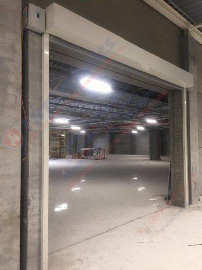 Противопожарная штора FireTechnics EI60 без орошения, Складской комплекс